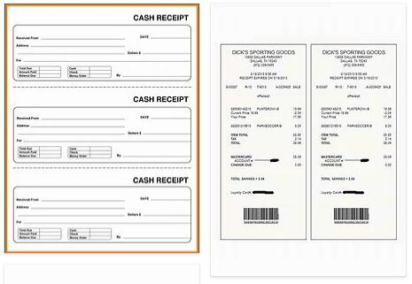 Meaning of Receipt